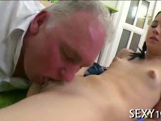 Hardcore drilling z nauczycielka