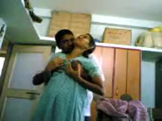 Indian Couple at Home