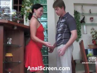 Gwendolen y arthur impactante anal película