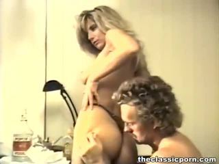 Dissolute vintāža porno saspraude iesniegts līdz the klasika porno