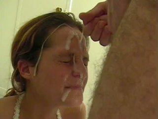 Amadora ejaculação na cara compilação