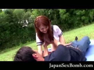 Jap chick Blowjob!