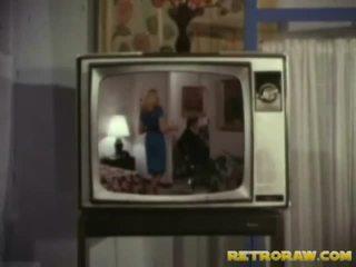 Retro televīzija izstāde trio