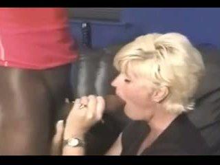 blonde, sanii mari, interrasiale