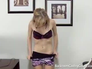 young, hottest audition scene, first time