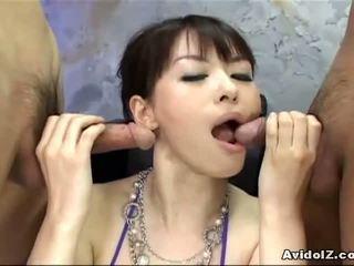 ładny japoński więcej, hq azjatyckiego
