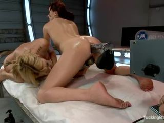 Amy Brooke And Alysa Love Extreme Ass Stretching