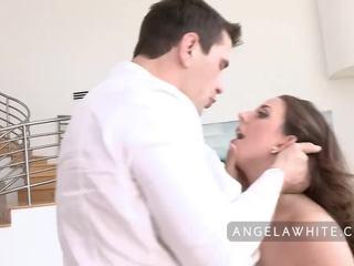 Busty angela trắng gets fucked lược qua manuel ferrara