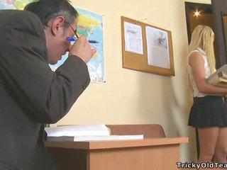Delightful analno seks s učitelj