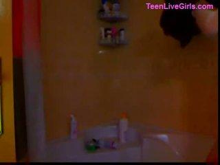 Teen girl gorgeous blonde on webcam 29...