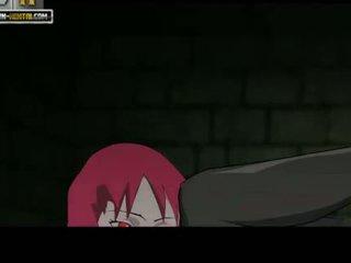 Naruto الاباحية karin comes sasuke cums
