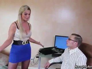 więcej bigtits dowolny, ustny, wielki blondynka