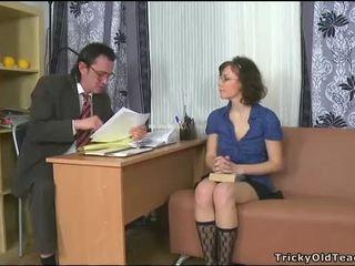 Sensueel tutoring met leraar