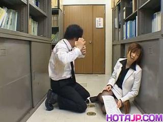 Misaki inaba kissed auf nylon