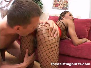 Ghetto Slut Loves Tasting Her Ass Juic...