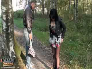 Похотлив outdoors секс видео направен в park