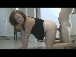 Momen punishes son med piss & creampie