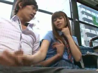 Rina rukawa sleaze korea fuzz gives a kiss onto a buss