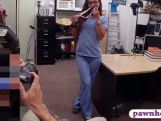 Beautiful Amateur Babe In Need Of Money Fucked By Pawn Man