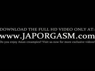 Teen horny asian gets hairy snatch licked to orgasm