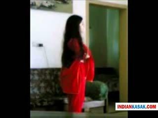 Indisch desi polizei mann enjoying mit seine gf im zuhause von pornraja