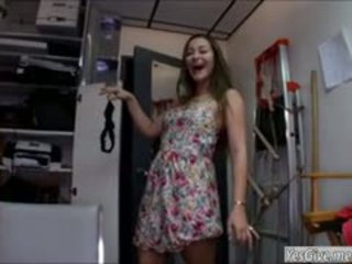 Superb Dani Daniels Fucked In Backroom
