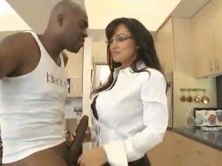 blowjob, interracial, lớn tits