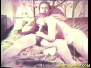 verbonden en fucked, retro porno, vintage sex