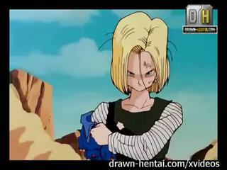 Dragon ball porno - winner gets android 18