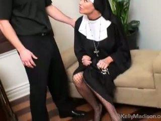 Kelly madison nubaudimas su a thick varpa į putė