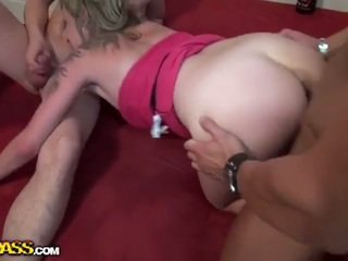 college flicka, 3some, mmf