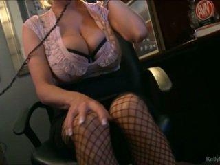 Busty kelly madison has nóng điện thoại giới tính trong cô ấy văn phòng