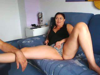 Mature Italian MILF Showing Pussy on Cam, Porn f7