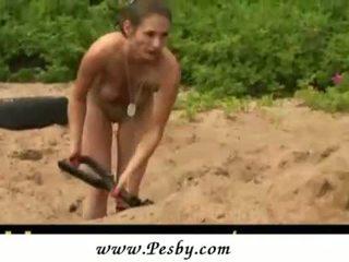 Tough Military Lesbian Workout