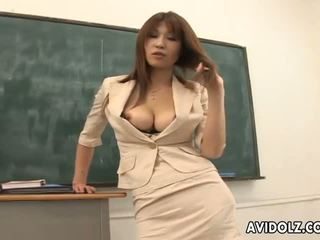 Καυτά με πλούσιο στήθος ai kurosawa βρόμικο δάσκαλος με τεράστιος