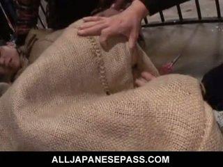 japonês, adolescentes, oriental