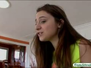 Naturel seins ado elektra rose gets pounded par son stepdad