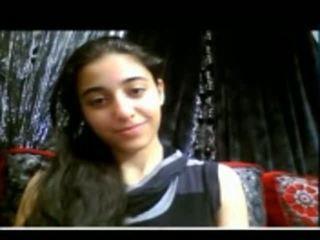 Gira indiana jovem grávida shows dela apertada cona em webcam