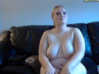 ぽってり 妻 gets spanked と masturbates 上の ウェブカメラ