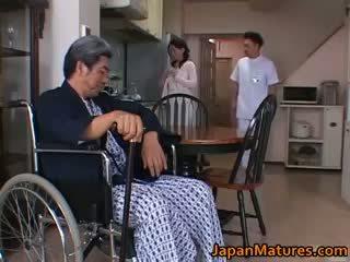 Miki sato eldre nipponjin modell part5