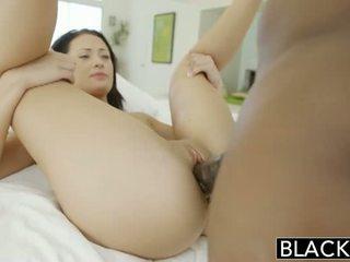 velký, kohout, sání cock