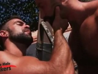 Four Muscled Boys Butch Grand, Steve Cruz, Dillon Buck And Dan Vega Fucking Outdoors