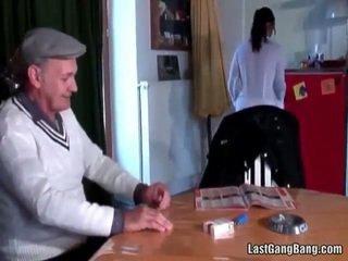 Madura francesa sult tries adolescente coño