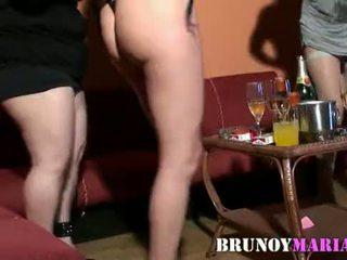 Brunoymaria - despedida de solteras acabando en orgia