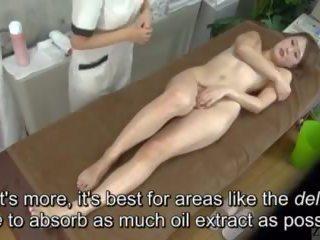 Subtitled enf cfnf japán leszbikus clitoris masszázs clinic