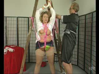 Busty mẹ tôi đã muốn fuck getting tied lên - julia reaves