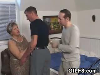 γιαγιά, λίπος, παλιά + νέων