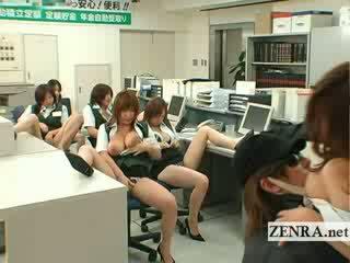 Japonské post kancelária zlodej prsnaté masturbation párty