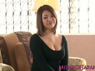 japanisch, große brüste, reift