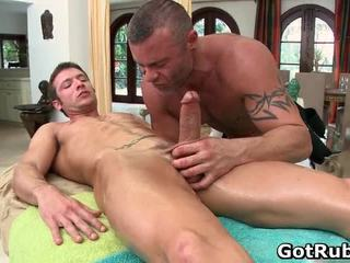 Super sexy guy gets sexy telo massages